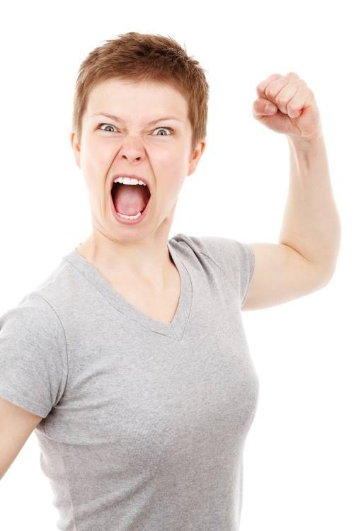 angry woman 01